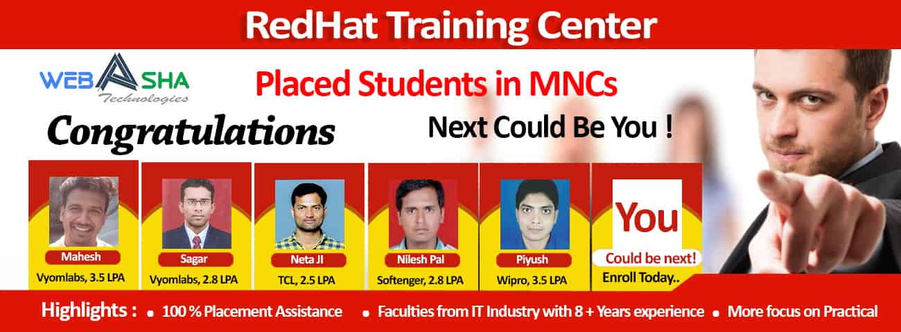 redhat Job & Placement
